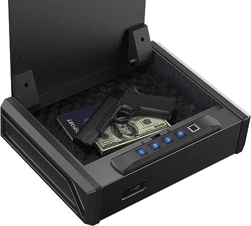 RPNB Gun Safe, Quick Access with Biometric Fingerprint