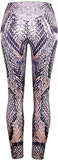 Breathable Women High Waisted Snake Lin Trousers Yoga Pants Pantalon Sport Femme Legging Sport for Girl