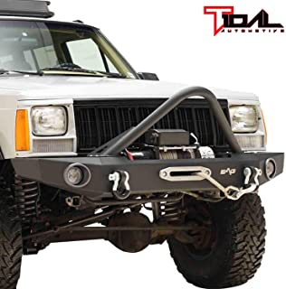 Tidal Stinger Front Bumper with Winch Plate