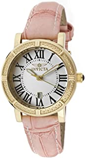 Invicta For Women Silver Dial Interchangeable Leather Band Watch - INVICTA-13968