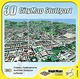 3D CityMap Stuttgart: Mit den amtlichen Karten des Stadtmessungsamtes Stuttgart: Stadtplan, Freizeit-/Radwegkarte, Luftbilder -