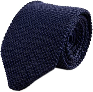 Men's Skinny Knit Tie Vintage Mixed Pattern Casual 2.4