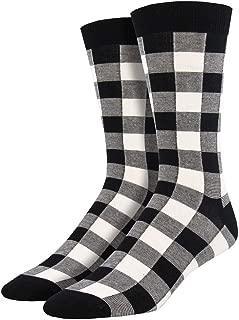 Best black and white buffalo plaid socks Reviews