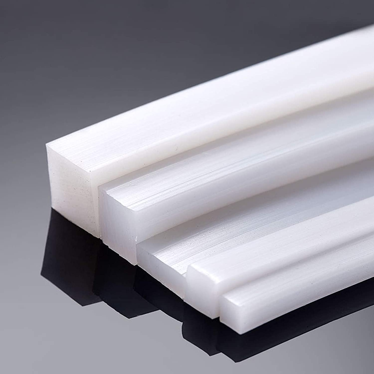 SHOUCAN Silicone Sealing Strip 3/×5//3/×10//2/×2mm Suitable for Shock Absorption of Industrial Machinery and Equipment Length 10 Meter,3/×10mm