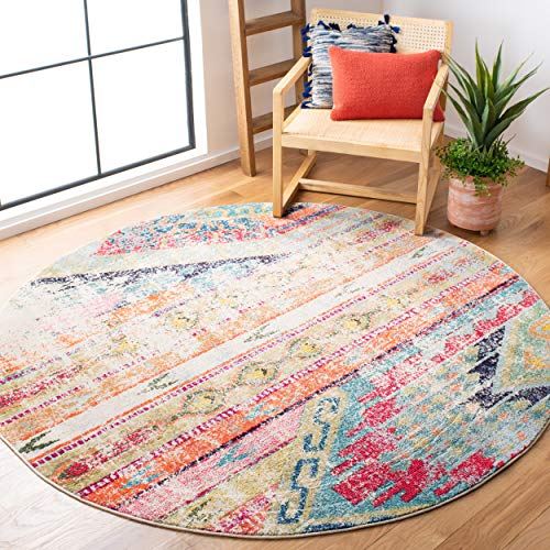 Childrens Round Rug For Playroom 5 ft Round