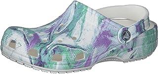Crocs Unisex's Men's and Women's Classic Tie Dye Clog | Comfortable Slip on Water Shoes