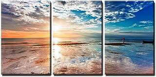 wall26 - Tropical Beach at Sunset - Canvas Art Wall Decor - 24