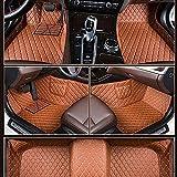 Congxy Alfombrillas Coche para Aston Martin DB9 2005-2016 Alfombras Coche Y Moquetas para Coches, Aston marrón
