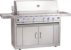 Summerset TRL Deluxe Series Gas Grill on Cart with Door/Drawer Combo, 44-inch, Propane