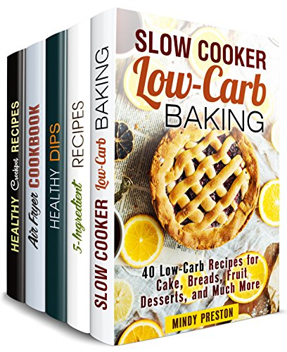 Stress-Free Cookbook Box Set (5 in 1): Over 150 Easy and Creative Breakfast, Dinner and Dessert Recipes to Save Your Time (One Pan & Easy Meals)