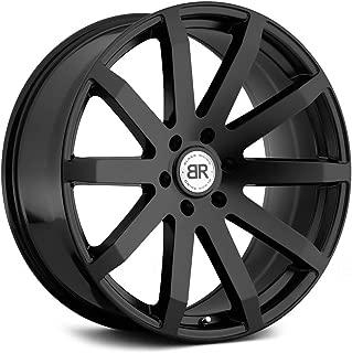 "Black Rhino Traverse Custom Wheel - Matte Black 22"" x 9.5"", 25 Offset, 6x139.7 Bolt Pattern, 112.1mm Hub"