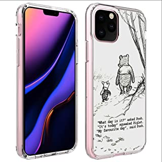 DISNEY COLLECTION UV Printing TPU Case iPhone 11 Pro Max 6.5 Inch Winnie The Pooh Drawings