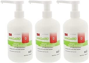 3m Healthcare Sanitizer Hand Gel Avagard D with Moisturizer, 16.9 Oz ,(3 PACK) (3)