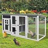 Zoom IMG-1 pawhut pollaio per galline da