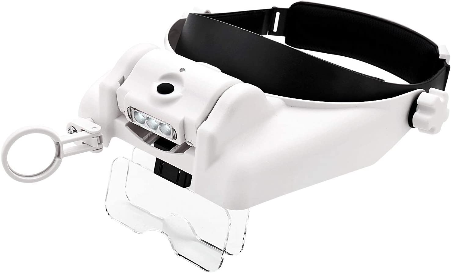 Jewelry Headband loupe with Visor and Max 79% Max 65% OFF OFF Magnifying Close Work Glas