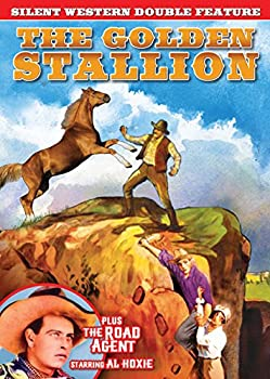 DVD Silent Western Double Feature: Golden Stallion / Road Agent Book