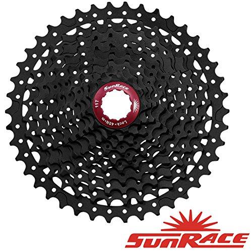 SUNRACE MX310Kassette 10Speed Bike?Schwarz?11?42Zahn
