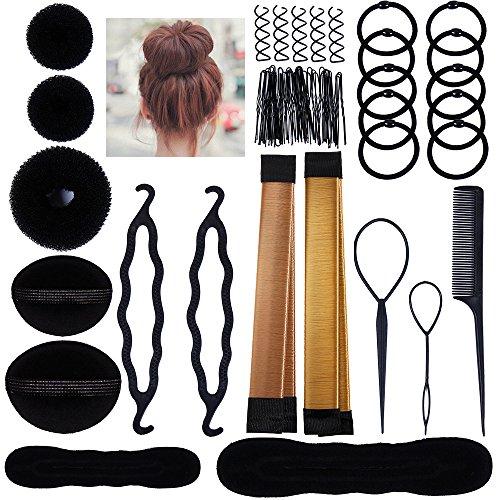 Lictin Haare Frisuren Set Frisurenhilfe Set Haare Styling Set Haar Clip-Pads Haar Frisur Klammer Haar Styling Werkzeug Set Haar Styling Zubehör Haar Styling festgelegt Kit (Frisurenhilfe Set)