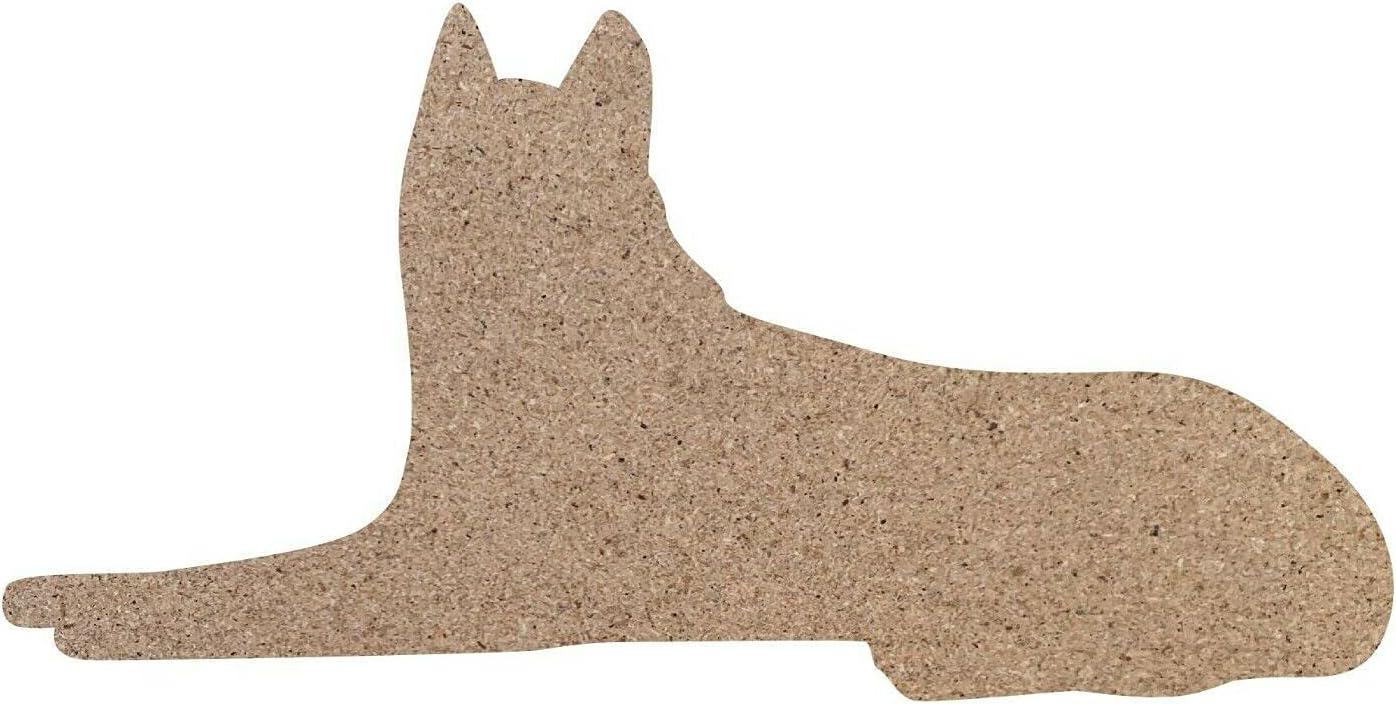 1 Pc Weekly update of Dog Husky Shape Unfinished MDF Bargain Wood Craft 2 DIY - Cutout
