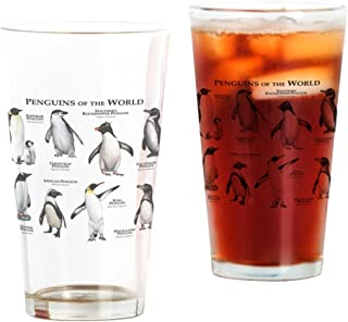 CafePress Penguins Of The World Pint Glass, 16 oz. Drinking Glass