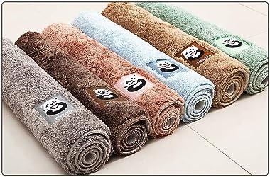 Alfombra de vellón Corta,  Alfombra Absorbente de baño, Alfombra de la Puerta del Dormitorio, Alfombrilla de baño, Felpudo R