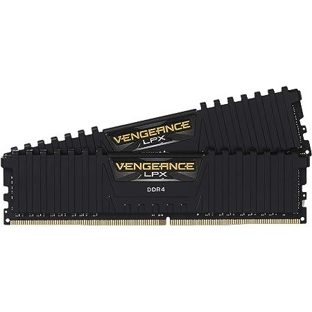 Corsair Vengeance LPX 16Go (2x8Go) DDR4 3200MHz C16 XMP 2.0 Kit de Mémoire Haute Performance pour AMD Ryzen - Noir