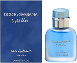 DOLCE&GABBANA Light Blue Eau Intense Pour Homme Eau de Parfum Spray, 1.6 oz