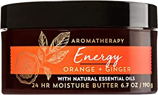 Bath and Body Works Orange Ginger Aromatherapy Energy Body Butter 6.7 Ounce With Essential Oils