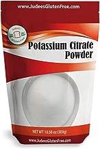 USA Origin Pure Potassium Citrate Powder (300grams/10.58 oz) - Dedicated Gluten & Nut Free Facility (See 680 Gram Product Below)