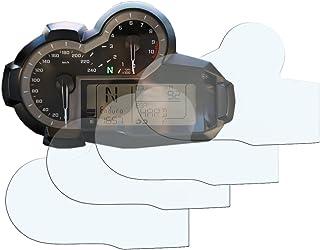 R1200GS 2013> Displayschutzfolie Tachoschutzfolie : 2 x Ultra Klar & 2 x Entspiegelt