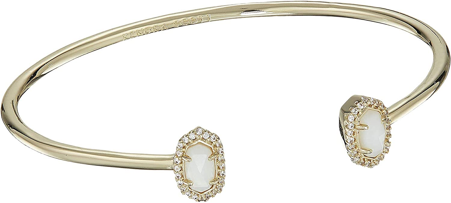 Kendra Scott Calla Bracelet Gold/White Mother-of-Pearl One Size