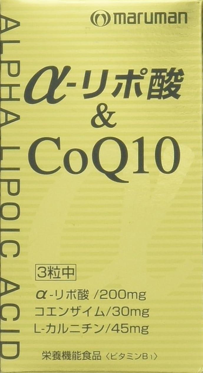 違反する放送知性マルマン α-リポ酸&CoQ10 249mg×90粒