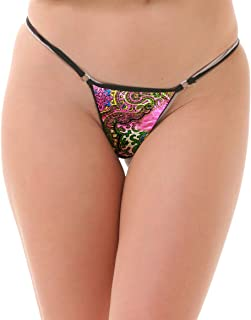Lola Dola Ladies Women Girls Polyamide G-String Panty Set of 01 (Multi, Free)