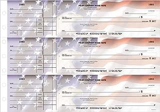 General Manual Business Checks, 3 to a Page American Spirit Multipurpose Checks, 250 Single Checks