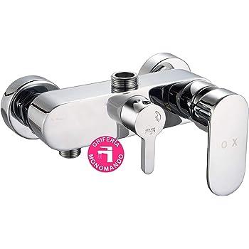 Uiano - Grifo termostático de ducha con 2 salidas altas y bajas y ...