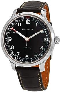 Longines Heritage Automatic Black Dial Men's Watch L2.789.4.53.3