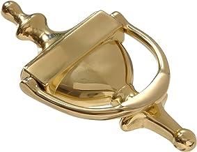 Hillman Hardware Essentials 852393 Bright Brass Door Knocker, 7-Inch