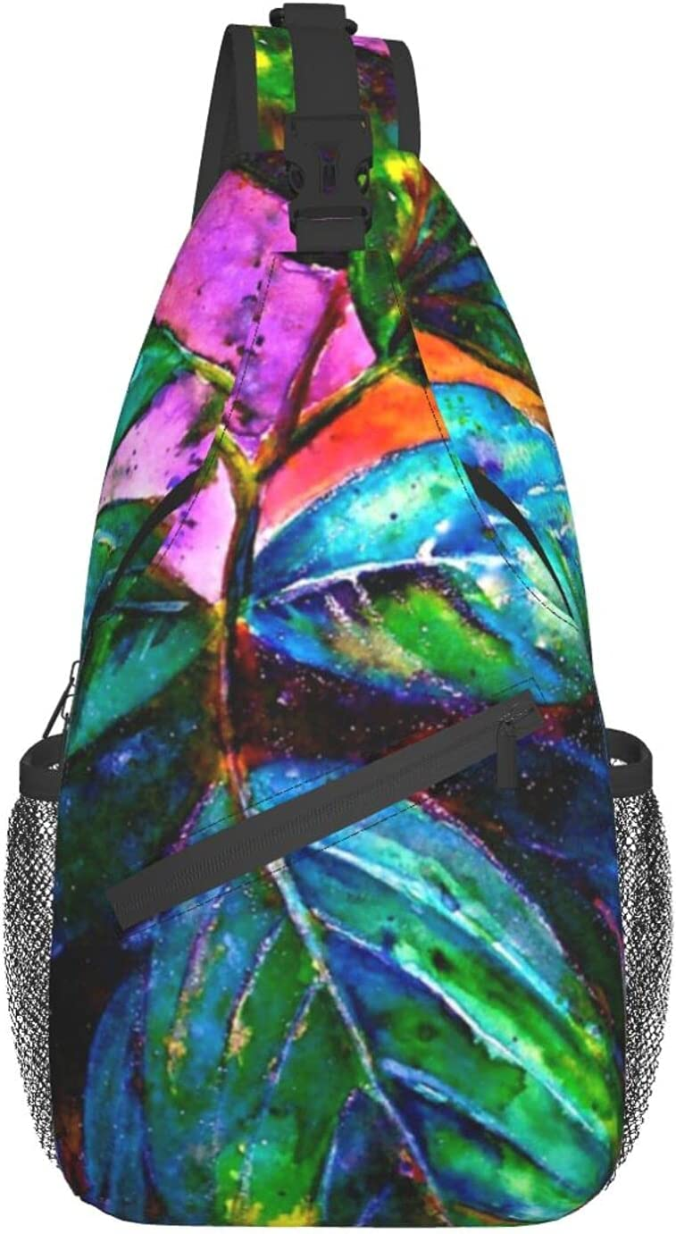Tropical Finally resale start Fantasy.. chest bag diagonally Backpack Travel Sling Hi Sale price