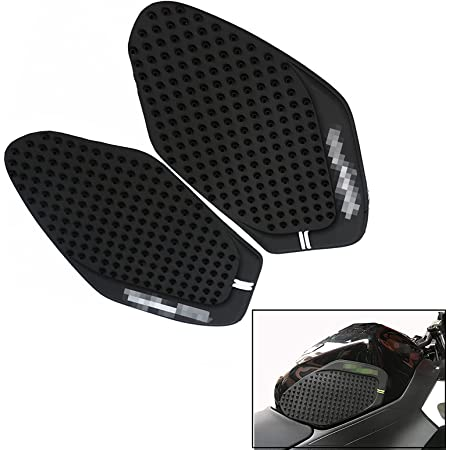 Tank Traction Side Pad Gas Fuel Knee Grip Decal Fit Kawasaki Ninja 250 300 13-17