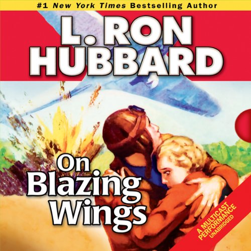 On Blazing Wings audiobook cover art