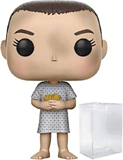 Funko Stranger Things - Eleven in Hospital Gown Pop! Vinyl Figure (Includes Compatible Pop Box Protector Case)