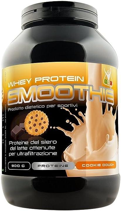 Whey protein smoothie 900 grammi gusto biscotto cookies - net integratori GR-VNZT-VNRQ