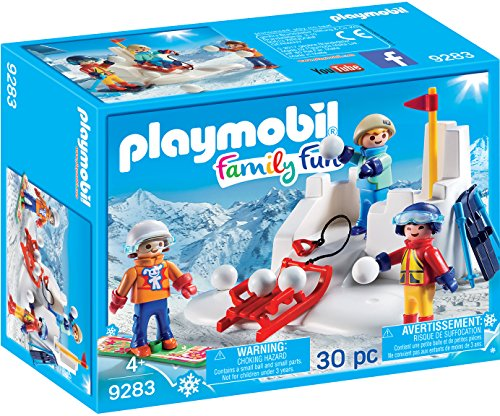 PLAYMOBIL 9283 Lucha de Bolas de Nieve