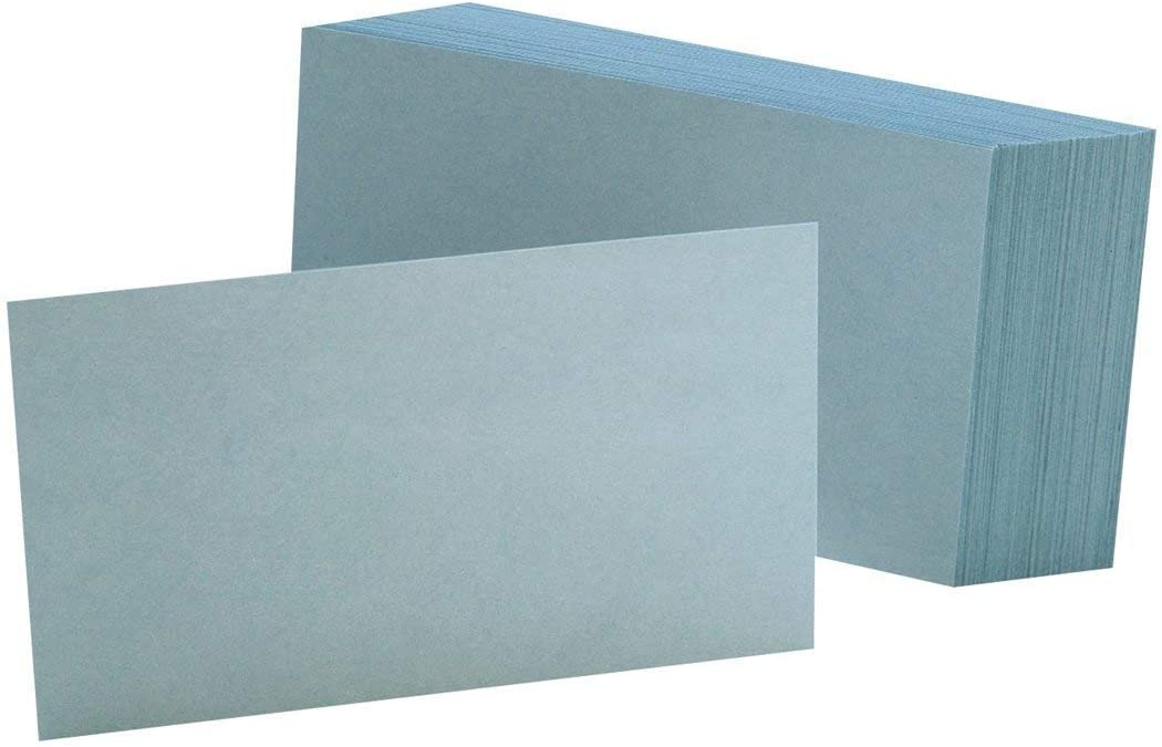Oxford Gifts Blank Color Index Challenge the lowest price Cards 3
