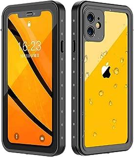 iPhone 11 防水ケース Oterkin iPhone 11 ケース IP68防水等級 360°保護 耐衝撃 超薄型 QI充電・指紋認証対応 防雪防塵 お風呂など適用 iPhone 11専用(6.1インチ)