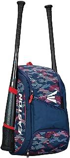 EASTON GAME READY Bat & Equipment Backpack Bag, 2021, Baseball Softball, 2 Bat Pockets or for Water Bottles, Vented Main C...