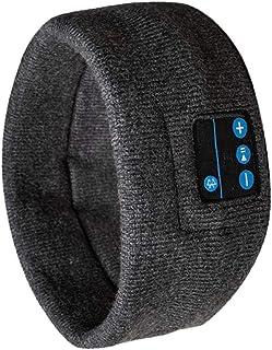 D DOLITY Bluetooth Music Sleep Sports Headbands Headset, Wireless Sleeping Headphones for Men,Women,Gray