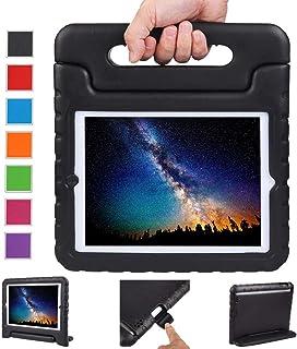 NEWSTYLE Funda para iPad 4, iPad 3 y iPad 2,Ligero y Super Protective Funda diseñar Especialmente para los niños para Apple iPad 2, iPad 3, iPad 4 Tableta (Negro)
