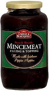 Crosse & Blackwell Rum & Brady Mincemeat Filling & Topping ~ 1 count ~ 29 oz jar