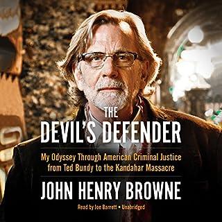 The Devil's Defender audiobook cover art